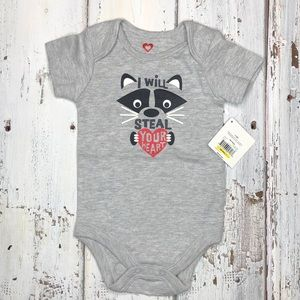"Other - Raccoon ""I Will Steal Your Heart"" ♥️ Onesies"